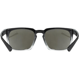 UVEX LGL 35 Glasses black clear/mirror silver